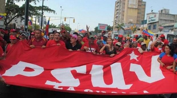 Venezuela: dang cam quyen PSUV chuan bi cho cuoc bau cu sap toi hinh anh 1