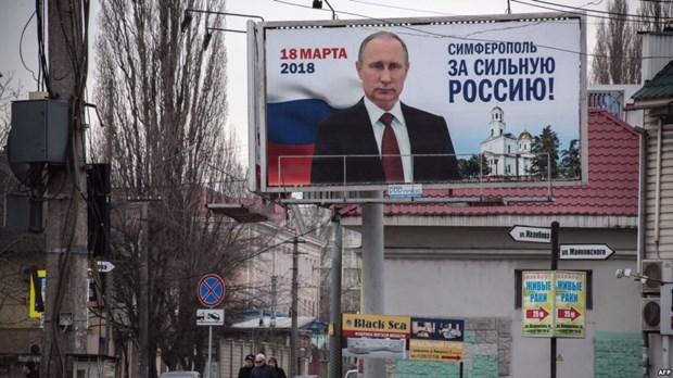 EU va Ukraine se khong cong nhan bau cu Tong thong Nga tai Crimea hinh anh 1