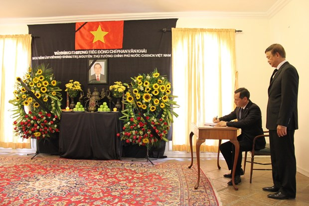 An tuong ve nguyen Thu tuong Phan Van Khai trong long ban be quoc te hinh anh 1