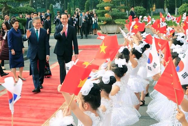 Tuyen bo chung Viet Nam-Han Quoc huong toi tuong lai hinh anh 1