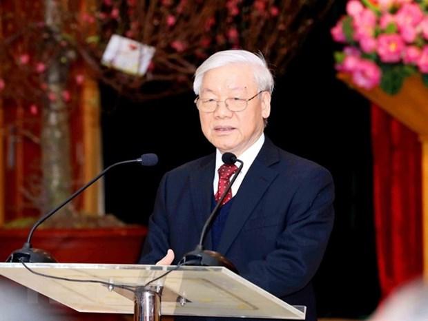 Tong Bi thu Nguyen Phu Trong: Trien vong tot dep cua quan he Viet-Phap hinh anh 1