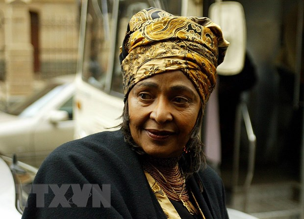 Nam Phi to chuc quoc tang cho ba Winnie Madikizela-Mandela hinh anh 1