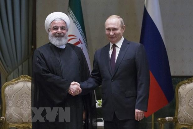 Lanh dao Iran, Nga nhat tri thuc day quan he hop tac chien luoc hinh anh 1