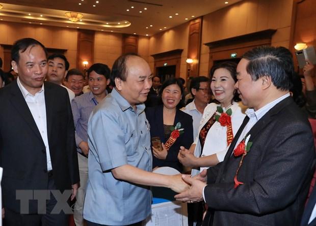 Thu tuong Nguyen Xuan Phuc doi thoai voi nong dan tai Hai Duong hinh anh 3