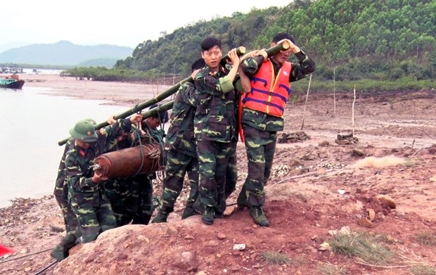 Quang Ninh di doi thanh cong mot qua bom nang 225kg hinh anh 1