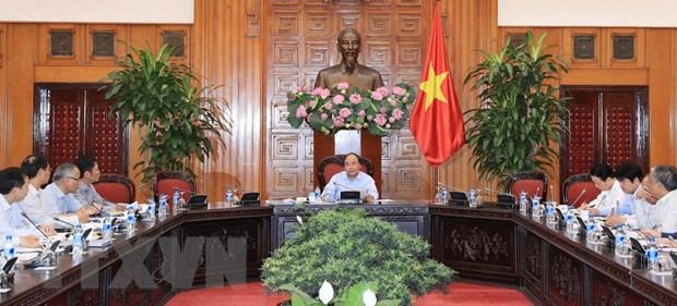 Thu tuong chu tri hop ve hop tac thuong mai Viet Nam-EU hinh anh 2