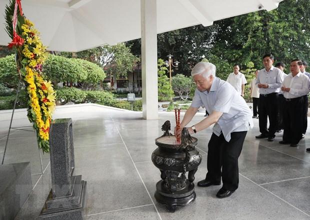 Tong Bi thu Nguyen Phu Trong tham, lam viec tai tinh Dong Thap hinh anh 4