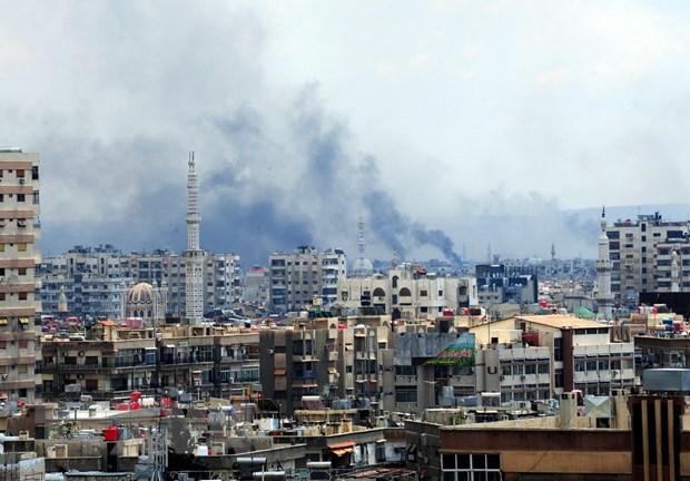 Tong thong Syria Assad khang dinh quyet tam chong khung bo hinh anh 1