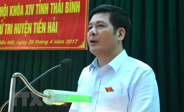 Ong Nguyen Hong Dien duoc bau lam Bi thu Tinh uy Thai Binh hinh anh 1