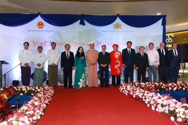"""""""Nhung ngay Viet Nam"""" lan dau tien duoc to chuc tai Myanmar hinh anh 1"""