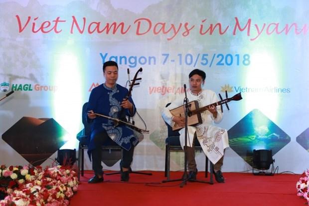 """""""Nhung ngay Viet Nam"""" lan dau tien duoc to chuc tai Myanmar hinh anh 2"""