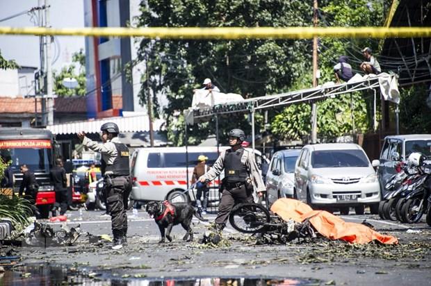 Indonesia: Cac doi tuong khung bo o Surabaya duoc huan luyen bai ban hinh anh 1