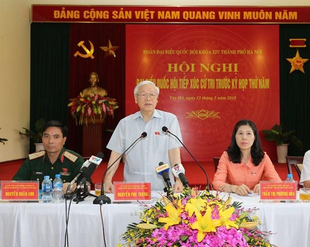Tong Bi thu: 'Ai da trot it, nhieu nhung cham thi tu got rua di' hinh anh 1