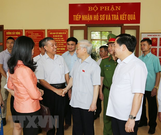 Tong Bi thu: 'Ai da trot it, nhieu nhung cham thi tu got rua di' hinh anh 2