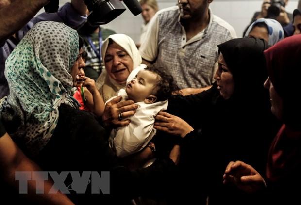 UNICEF canh bao tham hoa nhan dao voi tre em tai Gaza hinh anh 1