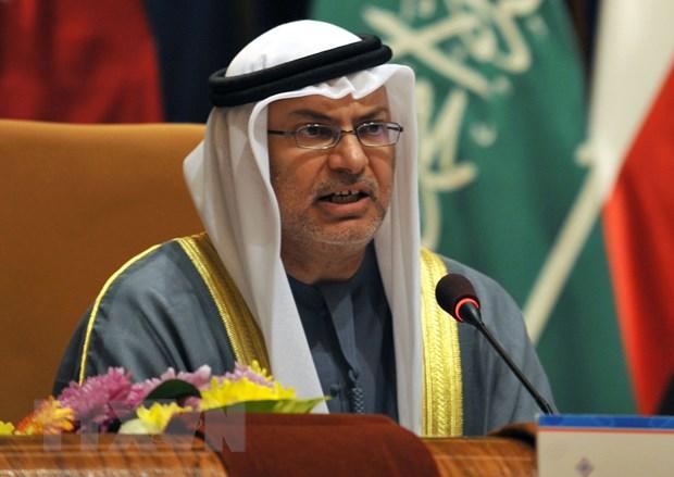 Ngoai truong UAE: Iran se buoc phai dam phan thoa thuan hat nhan moi hinh anh 1