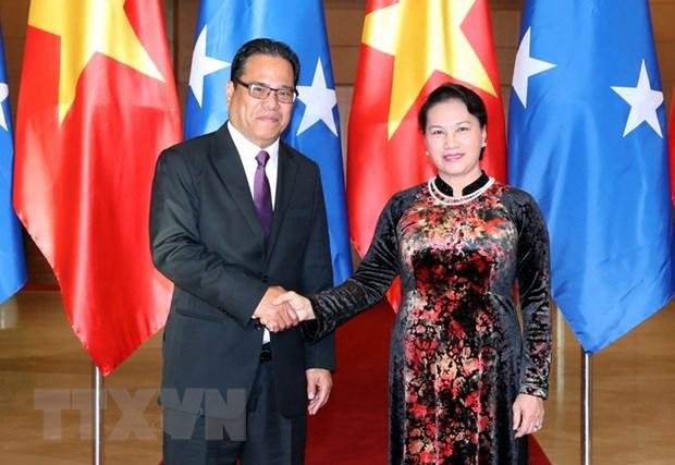 Phat trien tot dep quan he song phuong Viet Nam-Micronesia hinh anh 1