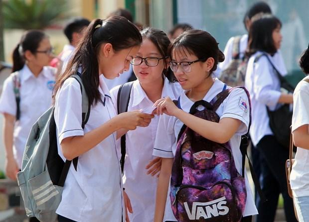 Gan 21.000 thi sinh tham du ky thi vao lop 10 Trung hoc pho thong hinh anh 1