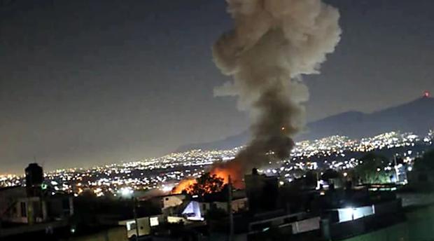 Mexico: No kho chua phao hoa lam 7 nguoi chet, pha hong 93 ngoi nha hinh anh 1