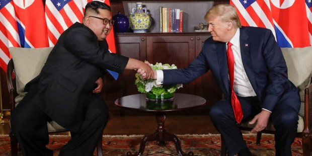 Diem chinh trong cuoc hop bao cua ong Trump sau thuong dinh My-Trieu hinh anh 2
