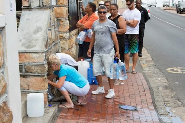 Nam Phi do bo tinh trang tham hoa quoc gia do han han nghiem trong hinh anh 1