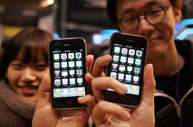 iPhone 3GS bat ngo hoi sinh voi gia ban 40 USD o Han Quoc hinh anh 1