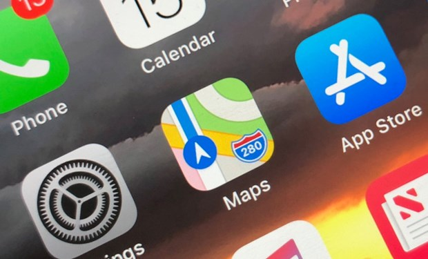 Ung dung ban do so Maps cua Apple bi gap su co sap mang hinh anh 1