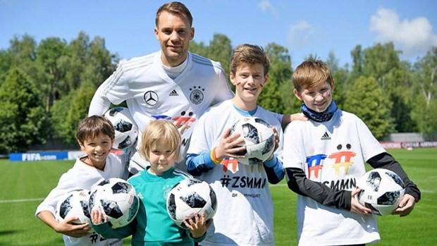 World Cup 2018 -Thu quan tuyen Duc Manuel Neuer: Suc khoe toi la 120% hinh anh 4