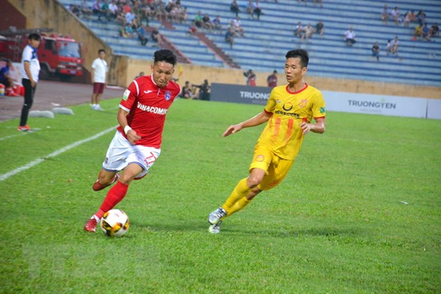 V-League: Nam Dinh bi Than Quang Ninh cam hoa 1-1 tren san nha hinh anh 1