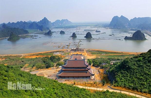 Cong bo Quy hoach tong the phat trien khu du lich Quoc gia Tam Chuc hinh anh 1
