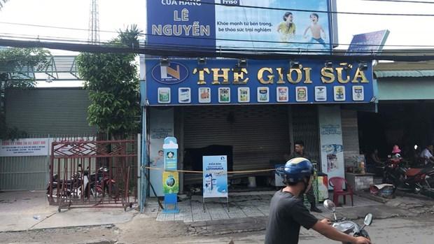 TP Ho Chi Minh: Chay tiem tap hoa, chong chet, vo nguy kich hinh anh 1