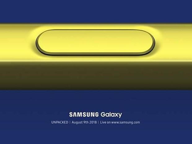 Samsung an dinh thoi gian to chuc su kien ra mat Galaxy Note 9 hinh anh 1