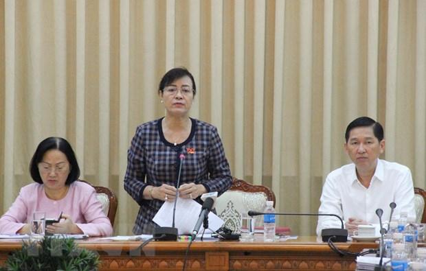 Thanh pho Ho Chi Minh hop ban giai phap quan ly dat cong hinh anh 1