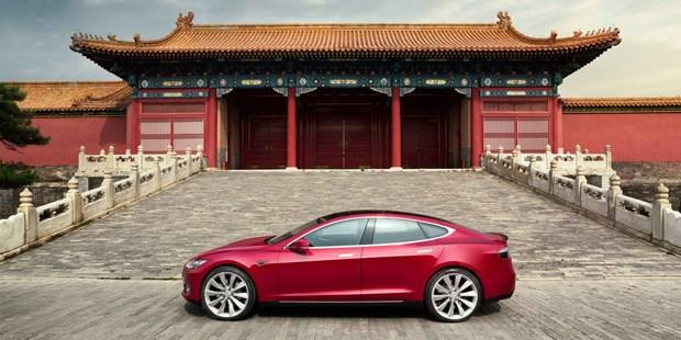 Tesla tang gia xe do tac dong tu cuoc chien thuong mai My-Trung hinh anh 1