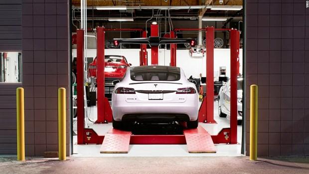 Hang xe My Tesla xay dung nha may san xuat oto dien tai Trung Quoc hinh anh 1