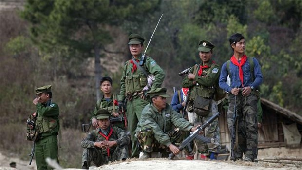 Cac nhom vu trang Myanmar cam ket dam phan hoa binh voi chinh phu hinh anh 1