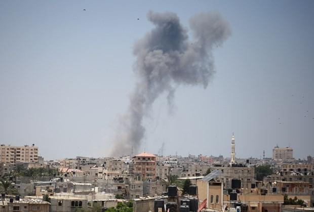 Bao luc Israel-Palestine van co dau hieu leo thang tai Dai Gaza hinh anh 1