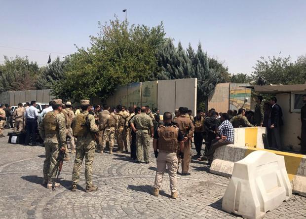 Iraq: Toa nha chinh quyen nguoi Kurd o mien Bac bi tan cong hinh anh 1