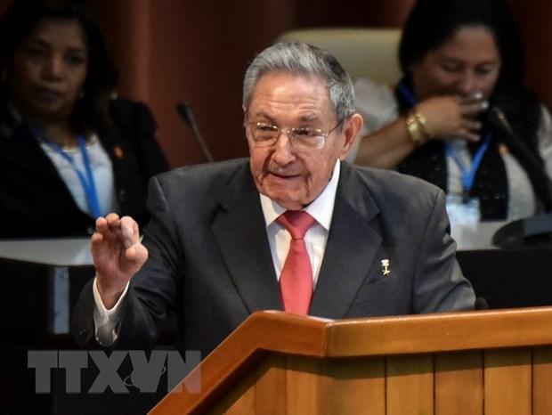 Lanh dao Raul Castro tai khang dinh quyet tam bao ve cach mang Cuba hinh anh 1