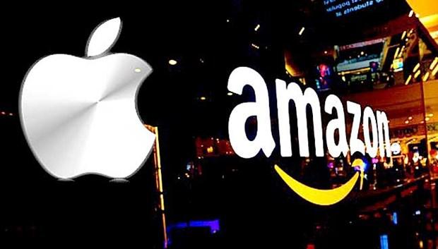 Apple, Amazon dan dau cuoc dua tro thanh cong ty nghin ty USD dau tien hinh anh 1
