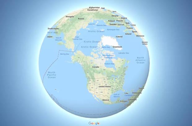 Google Maps phat hanh ban cap nhat mo ta chinh xac Trai Dat hon hinh anh 1