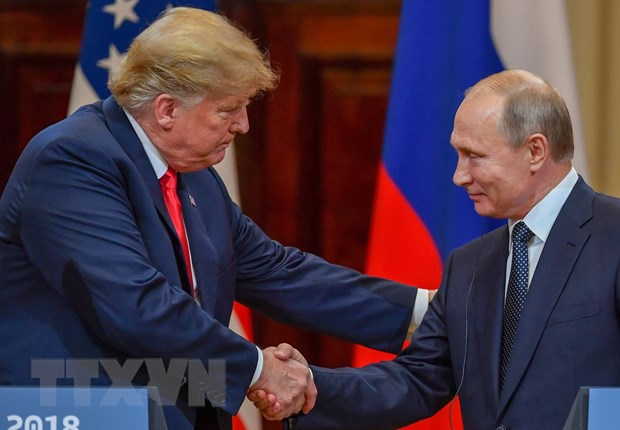 Tong thong My Trump gui thu cho nguoi dong cap Nga Putin hinh anh 1