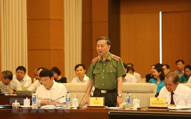 Bo truong To Lam: Vu Vu