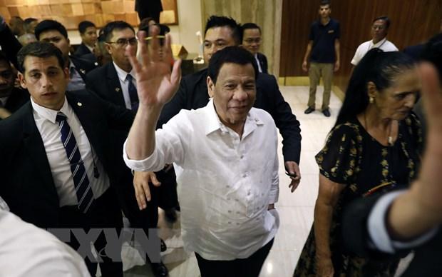 Tong thong Philippines bat dau chuyen cong du Trung Dong hinh anh 1