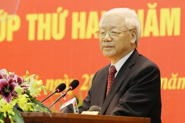 Tong Bi thu Nguyen Phu Trong tra loi phong van cua Hang Thong tan TASS hinh anh 1