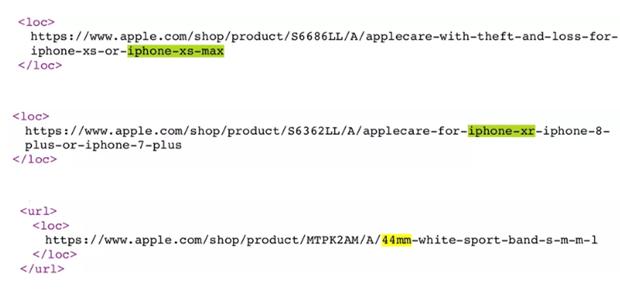 Apple ro ri ten iPhone XS, XS Max va XR tren trang web cua hang hinh anh 2