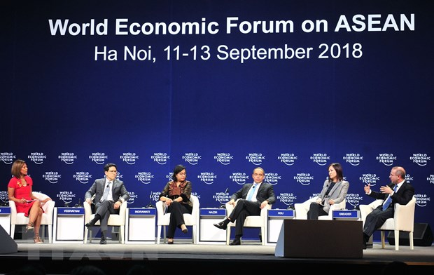 WEF ASEAN: Dien dan Tuong lai kinh te chau A - Hop tac la suc manh hinh anh 1