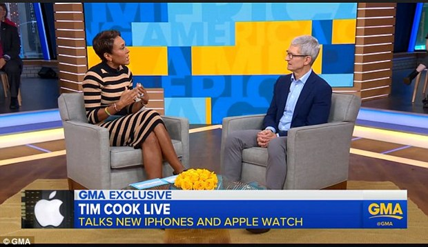 CEO Apple Tim Cook: Chi phi lam iPhone Xs Max khong he re hinh anh 1