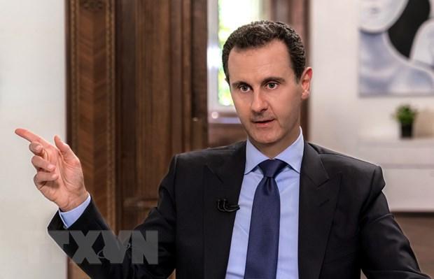 Tong thong Syria Assad chi trich Israel sau vu roi may bay Nga hinh anh 1