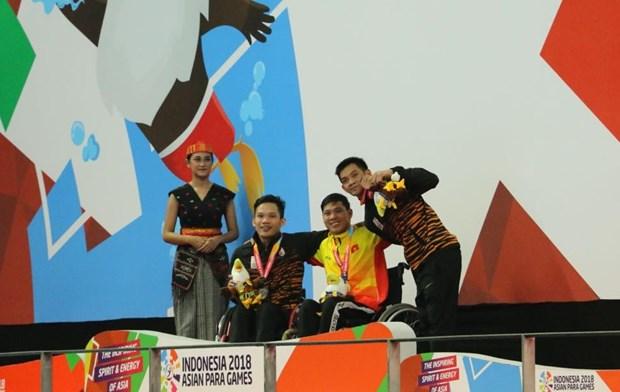 Asian Para Games: Vo Thanh Tung pha ky luc cua dai hoi tu nam 2010 hinh anh 1